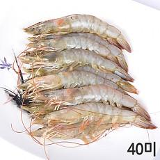 흰다리새우 40미